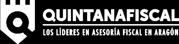 Quintana Fiscal. Logo Blanco. Transparente